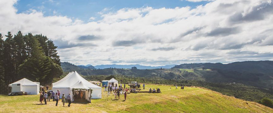 Coromandel Plateau Wedding Venue - Tairua